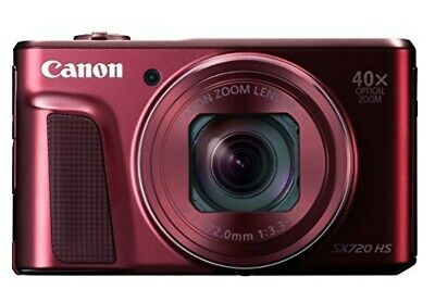 как выглядит Free Shipping Canon digital camera PowerShot PSSX720HSRE Red Japan import фото
