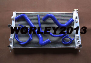 Aluminum Radiator + radiator hose for HOLDEN Commodore VZ LS1 LS2 SS V8 04-06