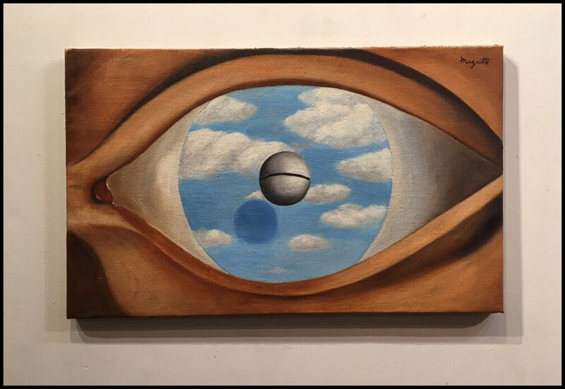 Rene Magritte Painting -Surrealist painting - 20th Century