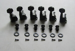 6-Inline-Guitar-Tuners-Tuning-Keys-Machine-heads-Black