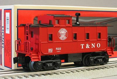 LIONEL SOUTHERN PACIFIC LIGHTED CABOOSE T&NO 6-30167 o gauge train 6-36675 RED on Rummage