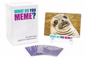 TODAY ONLY! WHAT DO YOU MEME GAME !! BNIB !!! FREE SHIPPING