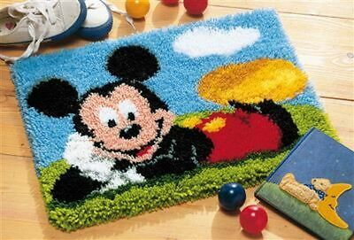 """Vervaco Knüpfteppichpackung """" Disney Mickey Mouse """" PN-001472"""