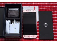 Samsung S7 in Pink Gold - Unlocked - Boxed As New (just over a month old with receipt).