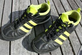 Adidas Adi-Nova boys' astro turf football boots / trainers size UK6