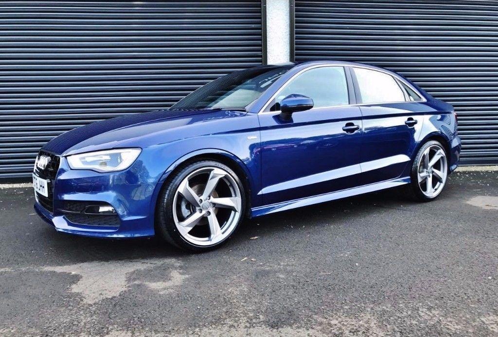 2016 Audi A3 S Line 2 0 Tdi 150 Saloon Scuba Blue Not A1