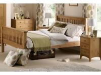 King Size Julian Bowen Barcelona Wooden Bed Frame