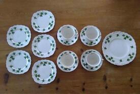 Colclough Ivy leaf bone china set