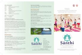 Yoga training in India ( with university certification)