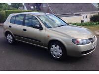 2003 Nissan Almera 1.5s * Only 67k Miles! * Long MOT * A/C * Bargain Hatch!