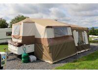 Pennine Fiesta Folding Camper 4 Berth+1 2008