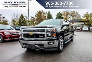 2014 Chevrolet Silverado 1500 LTZ, SUNROOF, BACKUP CAM, LEATHER,