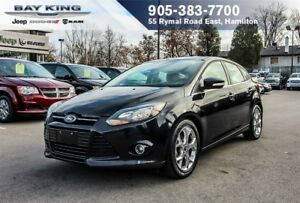 2013 Ford Focus TITANIUM, BACKUP CAM, SUNROOF, HTD SEAT, BLUETOO
