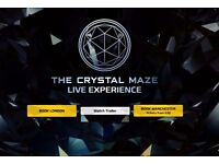 Crystal Maze Tickets 6th June 2017 at 4pm . Whole Session Booked. 32 Tickets in Total