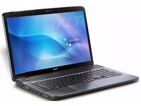 17 inch ACER Laptop in good condition and 1 month waranty