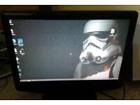 """19"""" PC monitor (also TV but no remote)"""