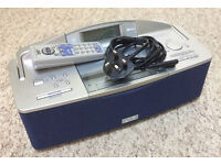 JVC Radio/CD player with remote + power cord.