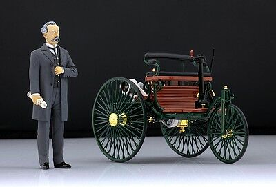 Karl Benz Figure For 1 18 Mercedes Norev Very Rare