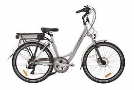 E-Ranger Cruiser XL Silver Electric Bicycle for sale