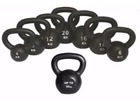 Kettlebells Cast Iron From £8.00 Free Workout DVD 4kg- 50kg Kettlebells, Cast Iron