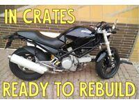 Ducati to REBUILD, Monster 620 dark 2005 to REBUILD