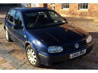 VW GOLF 2001 1.9TDI Diesel Blue