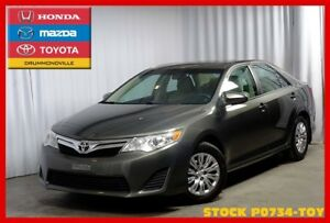 2012 Toyota Camry LE !! Faible millage !! CAMERA RECUL