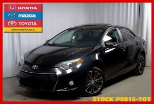 2015 Toyota Corolla S / CUIR / TOIT OUVRANT