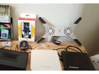 Laptop Cooling Fan and USB Mouse