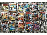 Brand New Sealed Lego Sets including Mini Figs and Star Wars
