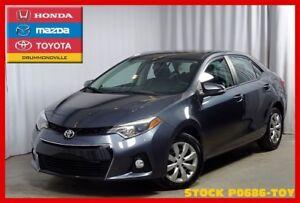 2015 Toyota Corolla S !! Camera de recul !! Ecran tactile