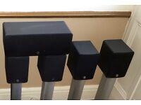Q Acoustics 7.1 Speakers System