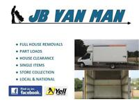 HOUSE REMOVALS FULLY INSURED LARGE LUTON VAN 2 MAN TEAM 5* CUSTOMER RATED