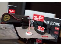 Rayban Aviators Black Brand New Boxed Unisex Glasses Collection Welcome + Can Deliver
