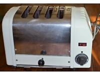 Dualit Classic 4 slot toaster, super condition