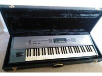 Korg N364 workstation/synth/keyboard with hard flight case