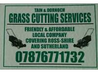 TAIN AND DORNOCH GRASS CUTTING SERVICES