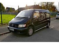 2003 Mercedes Vito 108 CDI Diesel Van / Camper - Low Mileage - Black