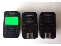 Yongnuo YN-622N-TX LCD Wireless i-TTL Flash Controller Trigger + 2 x YN-622n Transceivers for Nikon