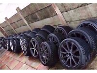 "Bmw Single audi Alloys Mv1 Mv2 Mv3 Mv4 M3 M5 M6 Ac Schnitzer Amg Ronal 17"" 18"" 19"" CAN POST"