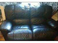 2 sofas and armchair