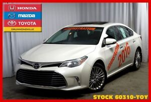 2016 Toyota Avalon Limited / DEMO / CUIR / TOIT OUVRANT