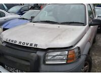LAND ROVER FREELANDER - in Silver - BREAKING for SPARE PARTS.