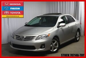 2013 Toyota Corolla LE / MAGS / FOGS / TOIT