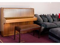 IMMACULATE Wilh.Steinmann German upright Piano with a duet stool
