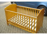 Full size Cot Bed-almost new