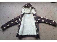 """Boys Boden """"Stars"""" top, Sherpa fleece, coat, jacket, from aged 7 years - Larne/Belfast, £6"""