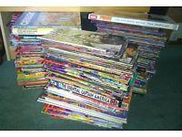 assorted comic/graphic novel bundle 100+