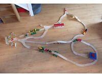 Brio train set approx 75 pieces