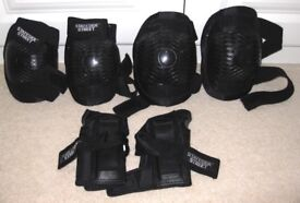 STATESIDE STREET: Inline & Roller Skating Shin, Elbow and Wrist Pads for adults